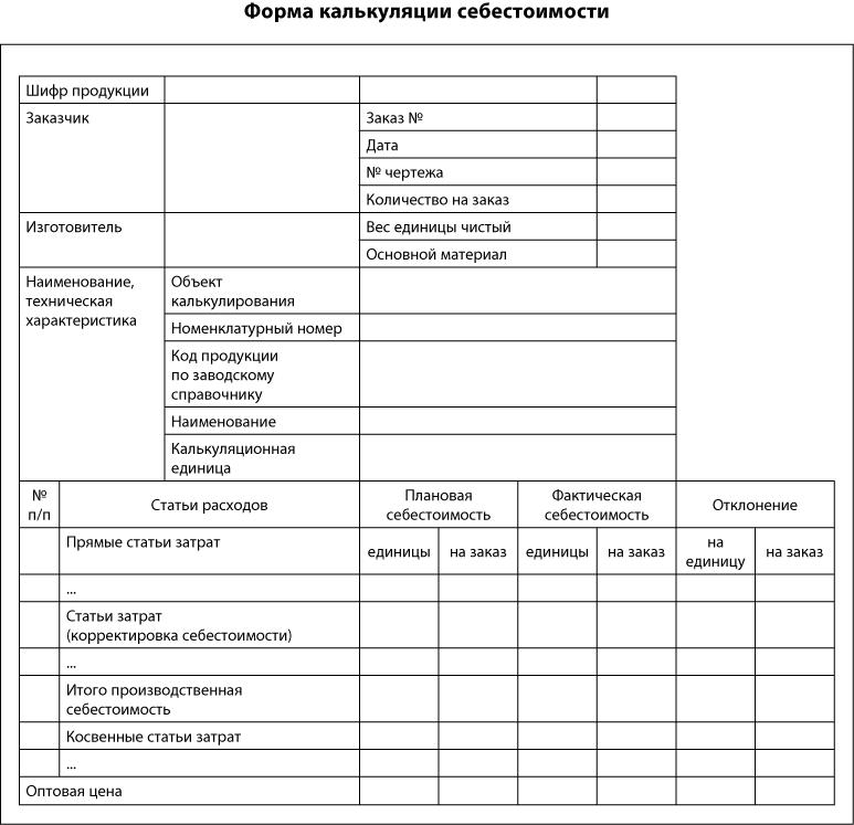 Положение Об Управленческом Учете Образец - фото 5