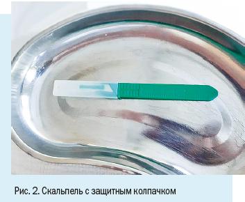 Риск инфицирования при проколе контаминированной иглой составляет
